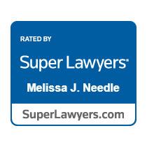 Super Lawyer badge - Melissa Needle